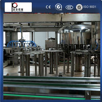 Shanghai manufacturer bottled water production equipment washing filling capping machine in factory price