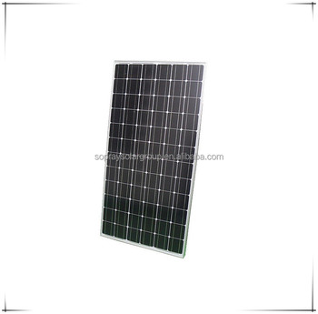 Factory price A Grade Monocrystalline pv solar panel 325w for wholesale
