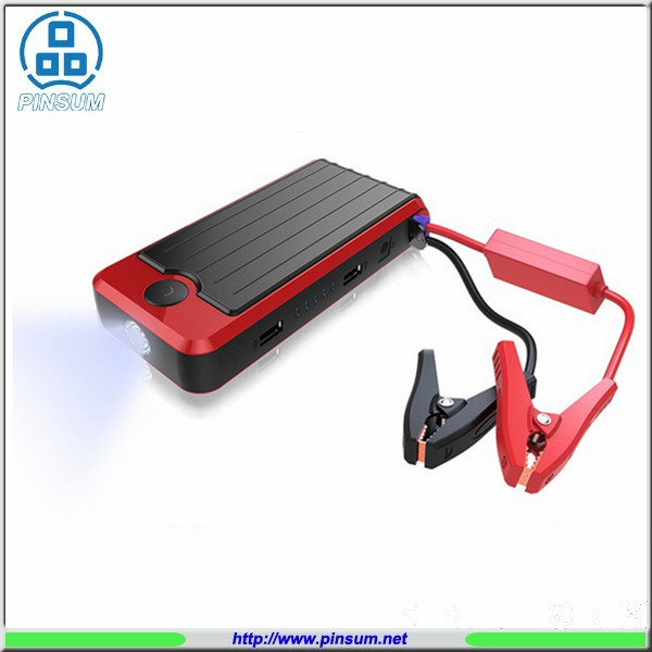 2017 new design mini auto jump starter lipo car battery 12000mah portable car jump starter