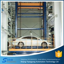 Travelling stack equipment smart car parking system