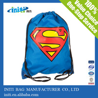 Plastic cheap drawstring bag with high quality