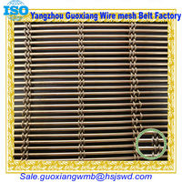 metal or stainless steel decorative window curtain