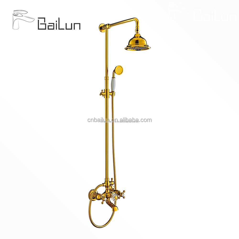 Dual Handle Telephone Shower 3 Function Modern Shower Set - Buy ...