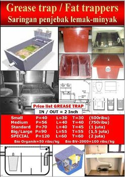 Grease trap-Fat trappers-Neutralized Tank BioSeven