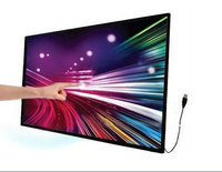 High Resolution Wall Mount 70'' inch LED/LCD Monitor Touch Screen pc tv
