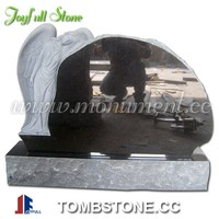 Granite Angel Tombstone For Sale