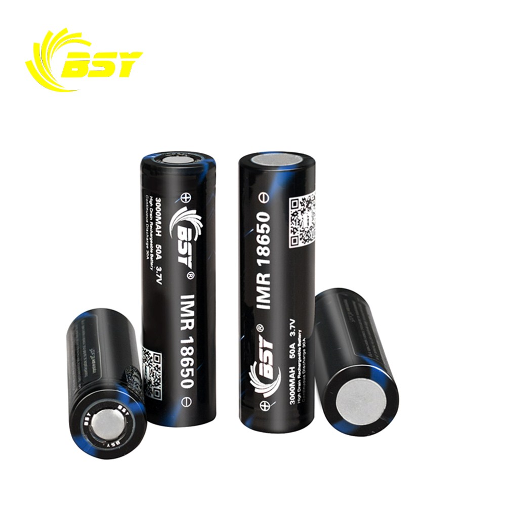 High quality 18650 3000mah 3.7v rechargeable battery Aurora BSY IMR 18650 li-ion battery for ecig mod