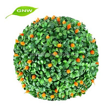 GNW BOX1004 new product hanging artificial boxwood topiary ball