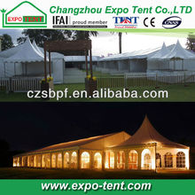 Fireproof exotic tents