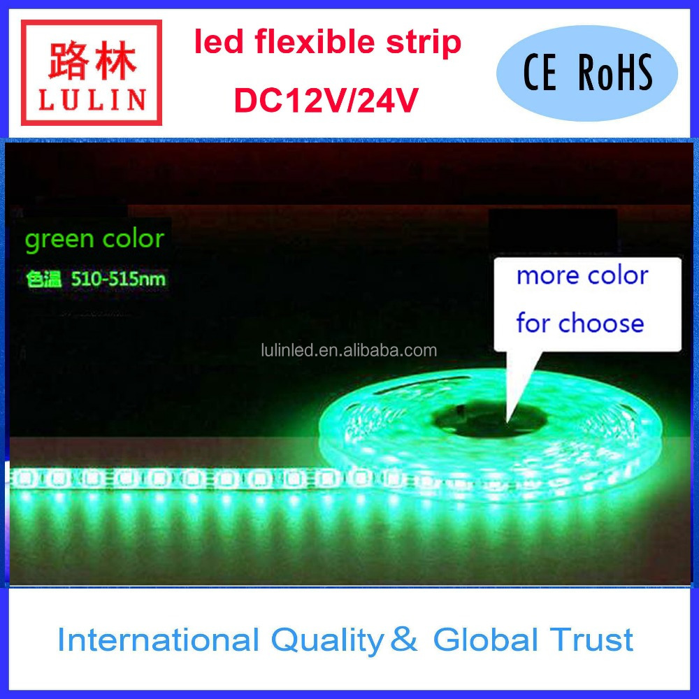 good quality colorful led flexible strip from Lulin warranty 3 years 5050/3528/2835/5730/3014 led