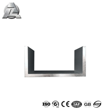 aluminium section sliding channel price 6063 t5 aluminum extruded profiles gutters,kitchen cabinet aluminum u shape