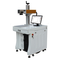 3d laser printing machine for curve printing on metal, leather, rubber, wood