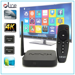 Professional Intel Z3735F 64-BIT CPU Win10 z64 Android stb turkish smart tv box for iptv