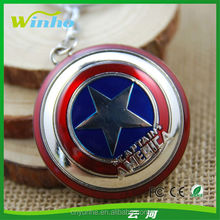 Metal Captain America Keychain