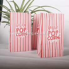 popcorn packaging bags / kraft paper bag for food packaging / microwave popcorn bags
