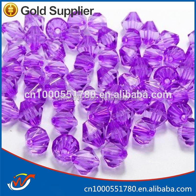 Round 50mm round water drop shaped acrylic beads