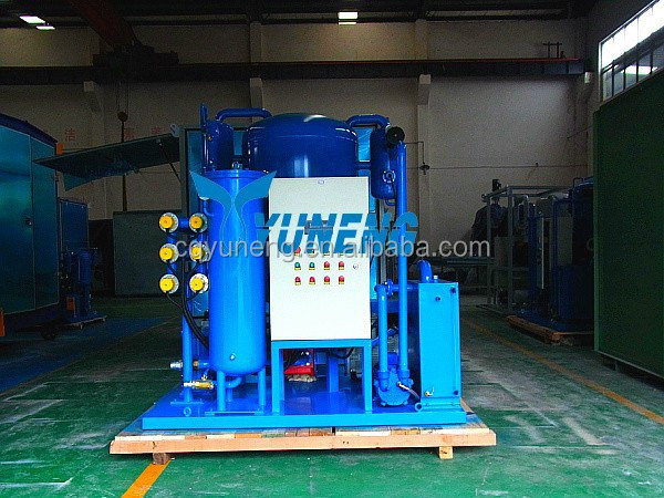 Applicative ZJC series lubrication mechanical oil filter system
