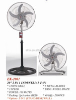 "20"" Crown Heavy Duty DC Industrial Stand Fan EK-2001"