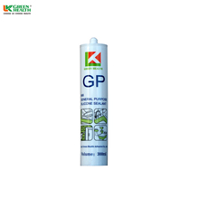 Waterproof liquid acid silicone sealant glue