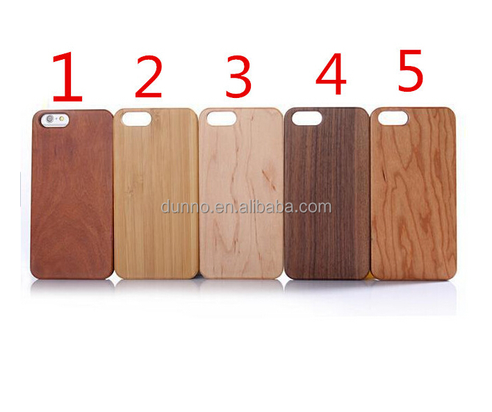for iphone 7 wooden case, mobile phone real wood hard case
