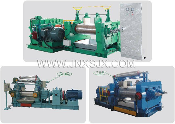 XK-560 Type China Rubber Two Roll Open Mixing Mill Machine