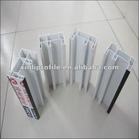 Hot!!! 60/80/88 casement/sliding window pvc/upvc profiles pass ISO 9001