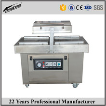 Chicken double chamber vacuum packing sealing machine