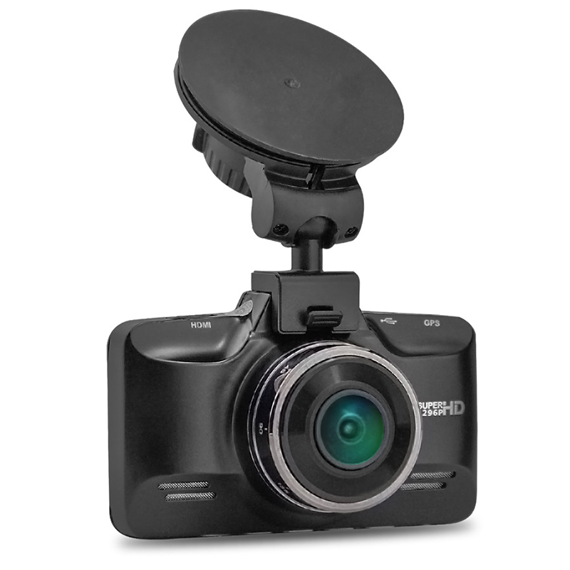 Blackview Newest GS98CS h.264 network dvr super hd 1296p roof mount car camera GPS LDWS FCWS HDR video car recorder dashcam gps
