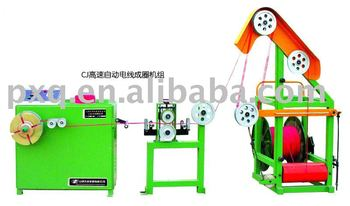high speed automatic wire coiling set