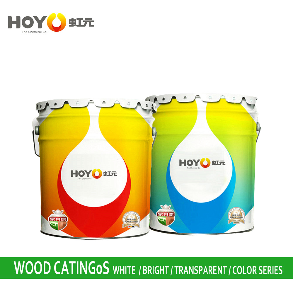 High Performance Two Component VOC Free Natural Matte Finish Wood Waterborne Paint