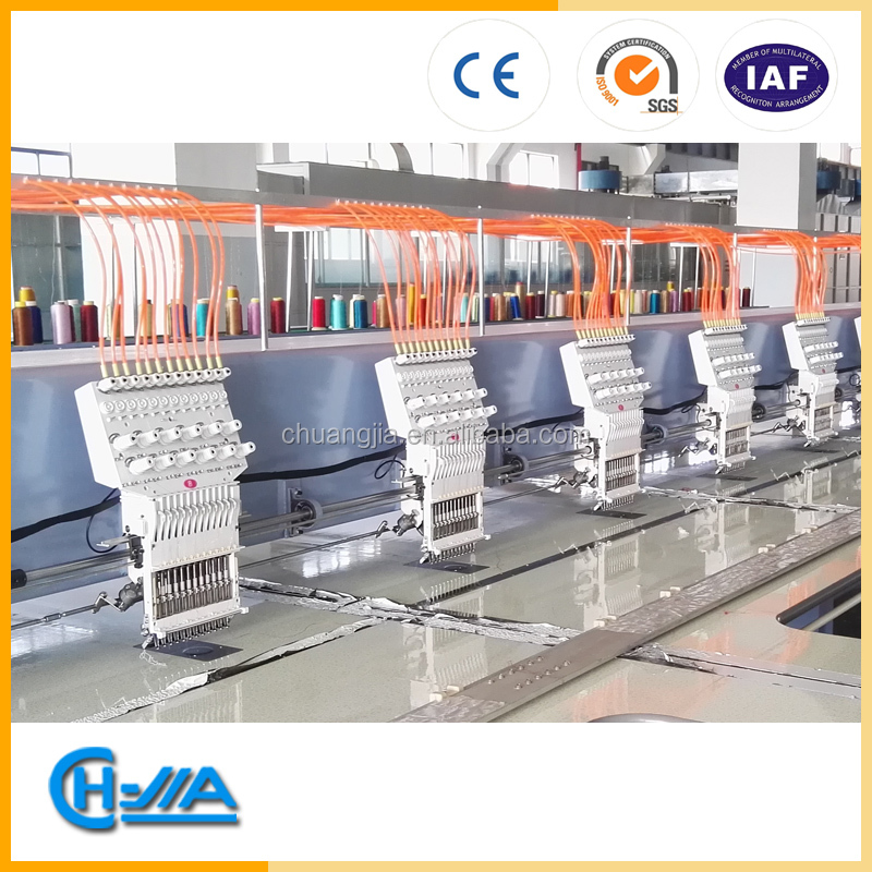 CH-JIA hot sale high speed embroidery machine GT1210 WITH DAHAO C528