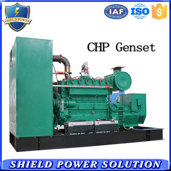 Shenzhen Power Factory CHP Generator Set, Gas Generator With CHP System