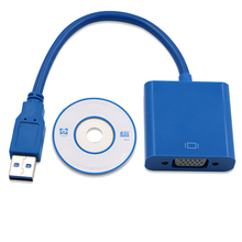 USB 3.0 to VGA Video Display External Cable Adapter for monitor,mac