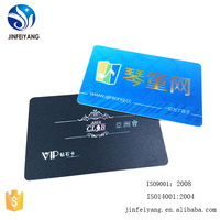 High quality CR80 solid plastic visiting card with free sample