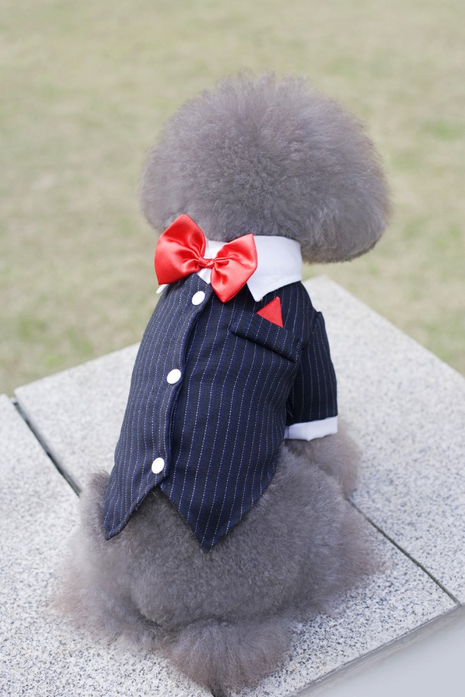Pet Clothing Larger dog clothes Wedding tuxedo suit
