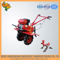 Small farm plowing agriculture machinery equipment