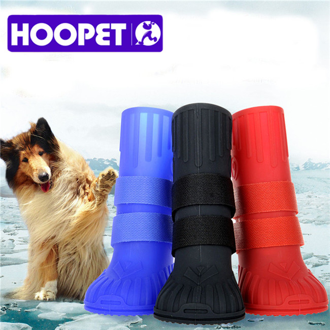 Pet Supplies Silicone Large Size Dog Boots Waterproof