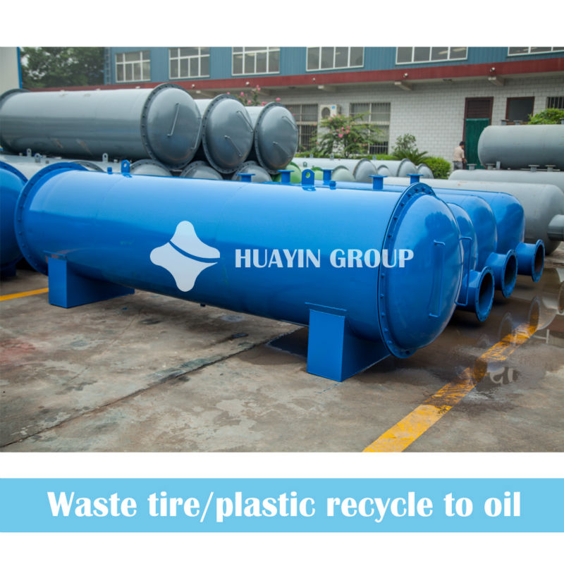 12T Used Waste Plastic Bags Recycling Facility To Fuel Oil For Heating Materials