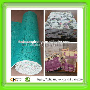 raw material rebond scrap foam high density