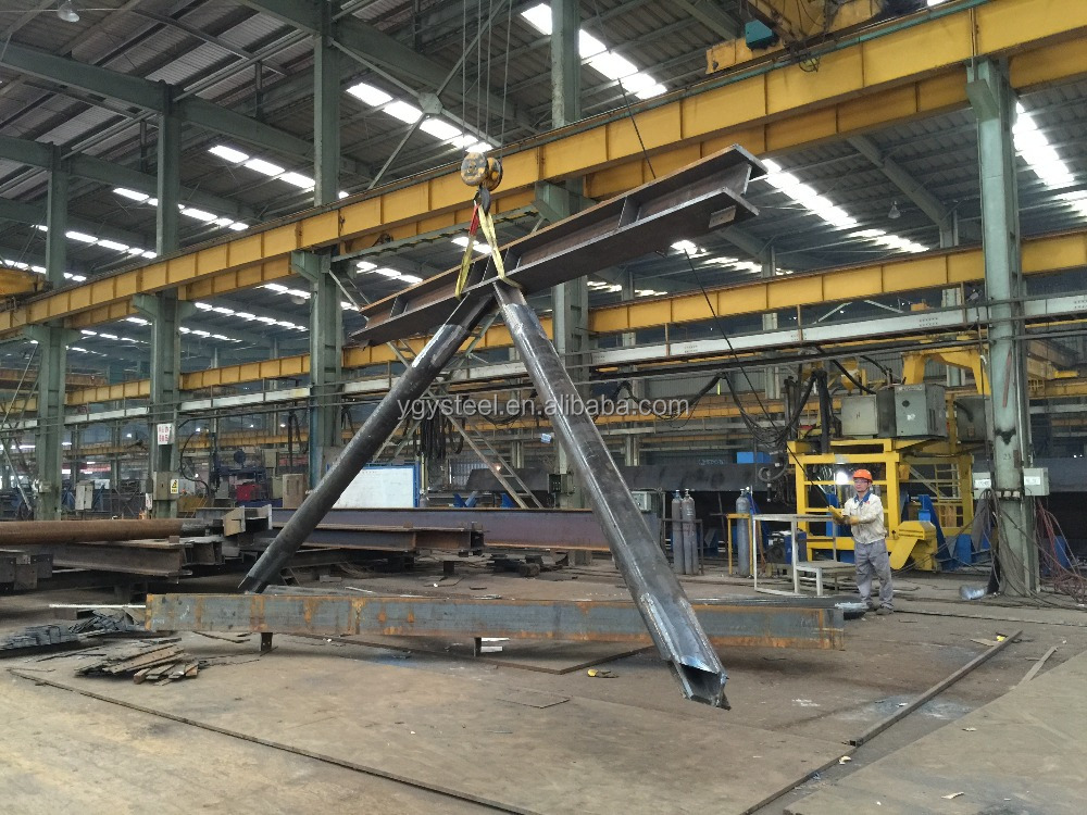 Prefabricated steel structure pedestrian overcrossing railway steel bridge for sale