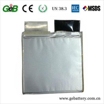 li-polymer prismatic pouch cell 3.7V 40Ah 8C
