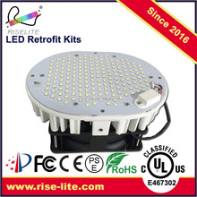 cUL UL gas station led canopy light 150W LED retrofit kit shoebox light led Retro fit kit