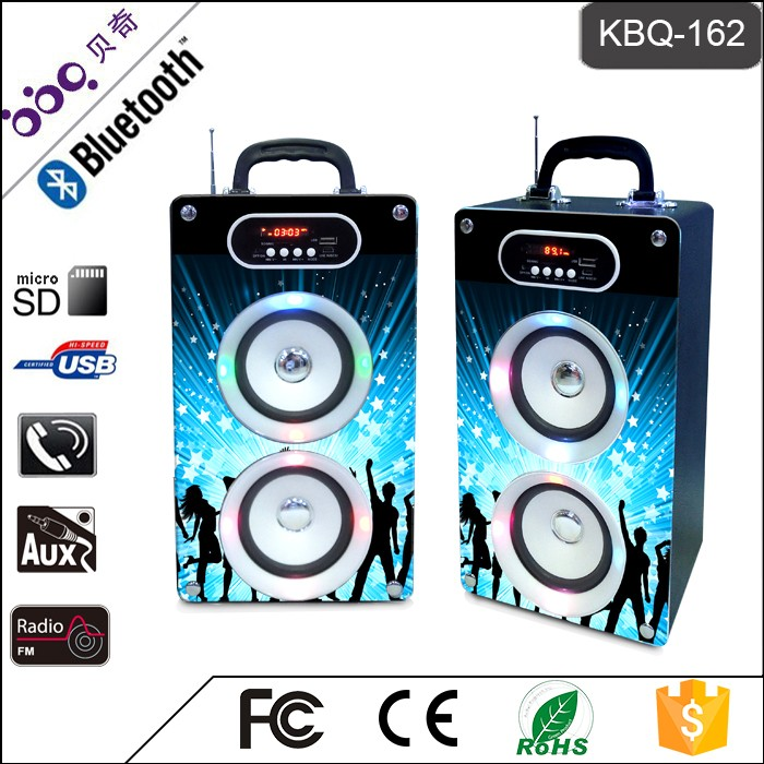 BBQ KBQ-162 20W 2000mAh Pro Top Tech Audio Speaker