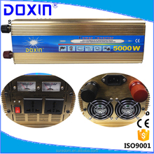 DOXIN DC to Ac power inverter with UPS function with battery charger 12v 220v 5000w inverter ups for home use for solar system