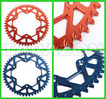 7075 Al. Rear Offroad BIKe Motorcycle Sprockets for Honda KTM Kawasaki Suzuki Yamaha and HUSABERG