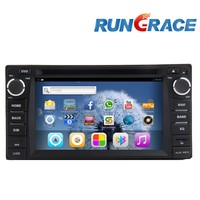 2 din 6.2 inch Fix Touch Screen 3G Toyota camry Car multimedia