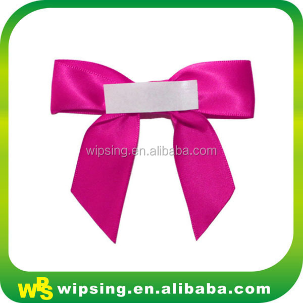Decorative self adhesive ribbon bow