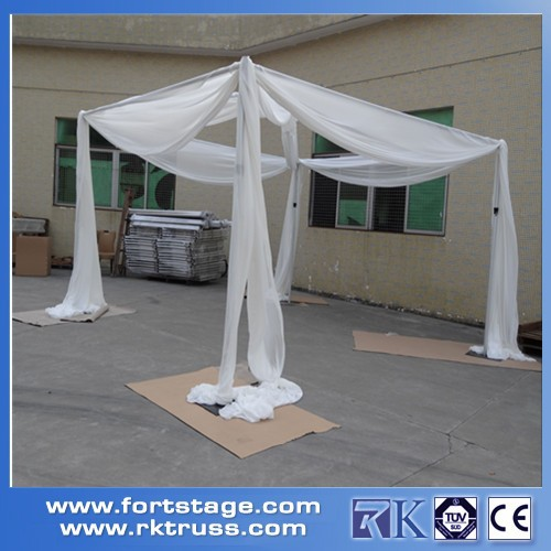 Factory price Strong wedding square tent adjustable pipe and drape/curtain stand