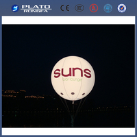2013 Inflatable large helium balloon,giant advertising balloon,LED balloon for advertisement