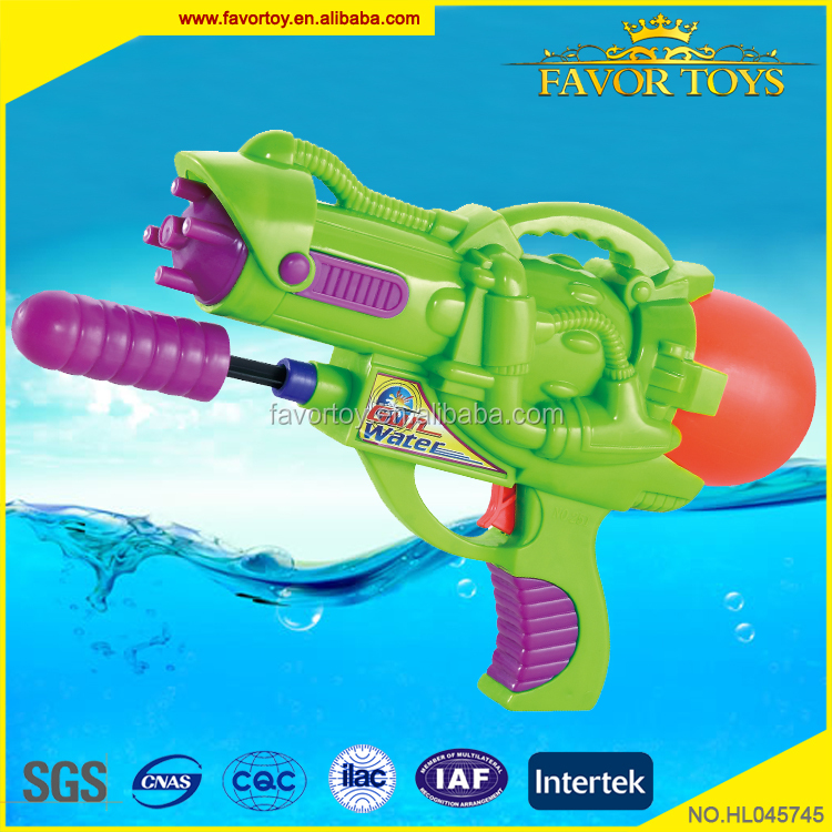 High quality custom non-toxic plastic toys powerful water gun